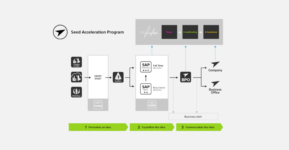 Seed Acceleration Program概要図
