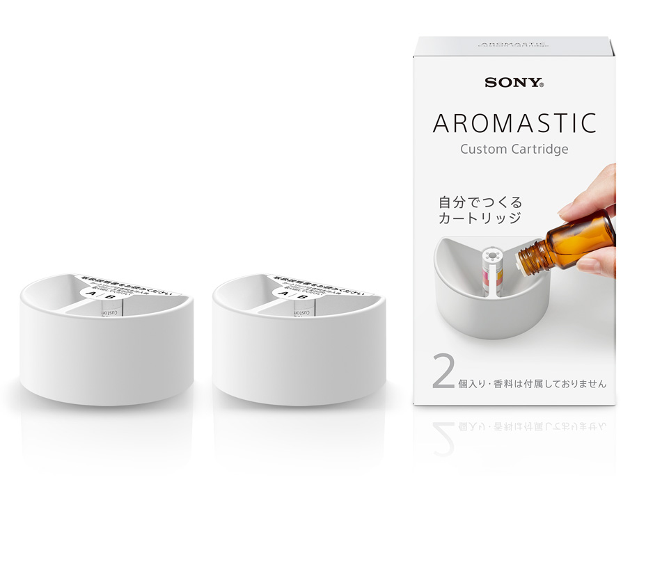 AROMASTICCustom Cartridge パッケージ